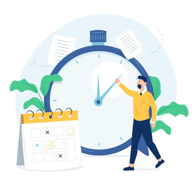 Aprenda a organizar seu tempo