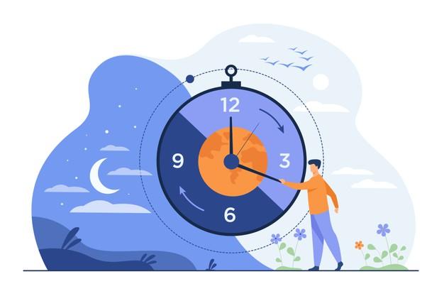 Falta de tempo versus organização